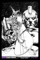 SILVER SURFER COVER 1 by KOIMANDO