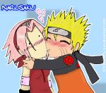NaruSaku: Kisses for Saku-Chan by Luffy-Kun