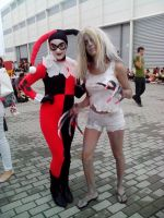 Witch and Harley Quinn by Kalix5