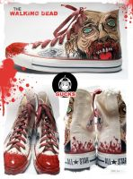 The Walking Dead by gucksshoes