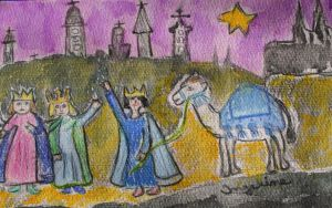 From Bethlehem to cologne by ingeline-art