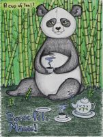 Panda bamboo forest by Paya-Art