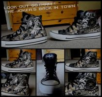 Look out Gotham ! SHOES by fannychichou
