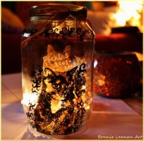 Kitty Candle Holder by Bonniemarie
