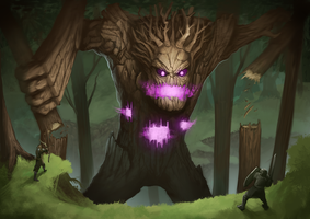 RIFT Corrupted Treant Lord by Kazzze