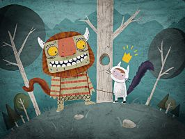 Where the Wild Things...illust by Echoes83