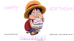 Happy  birthday eguiamike by ioshik