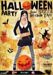 flyer ClubTAO - Halloween by semaca2005