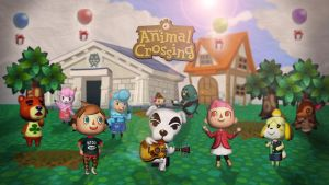 Animal Crossing | Wallpaper by Squiddytron