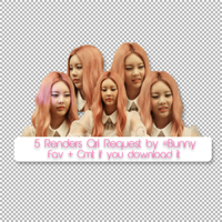 5/7-5 Renders Lee Qri Request by @Bunny by BunnyLuvU