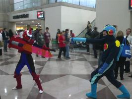NYCC 2012 - Battle Network Cosplay Pt. 1 by DestinyDecade