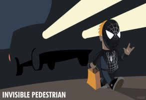 Invisible Pedestrian by mattwileyart