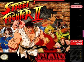 Street Fighter 2 SNESbox cover by Hellstinger64