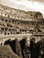 Collosseum Inside by cristilaceanu