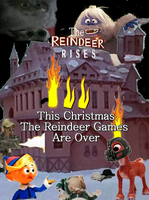 The Reindeer Rises Poster by GreedLin