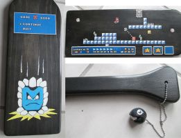 Super Mario 3 Paddle by user-name-not-found