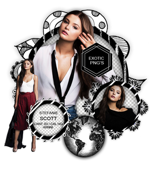 Pack Png 1219 // Stefanie Scott. by ExoticPngs