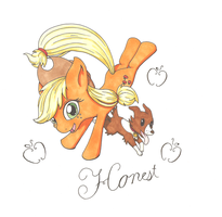 Honest Applejack by goomzz