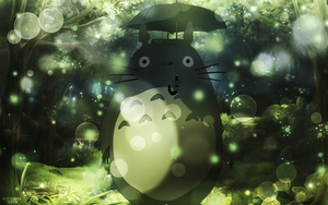 Totoro | Wallpaper by Butterth