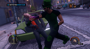 Kankan punches a Morning Star_ Saint's Row the 3rd by K4nK4n