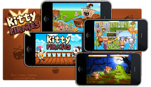 iPhone Game - KittyPirates by Seiorai