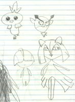 Here are some fail pokemon :) by Willowkit17