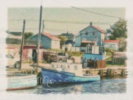Glace Bay Cape Breton Nova Scotia by ShawnaMac