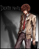 Death Note - Light and Shadow by synchronetta