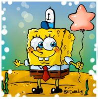 spongebob squarepants by bechan