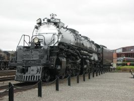 The Union Pacific Big Boy by MasterofWolves99