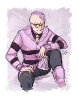 Sketch Commission - Quentin Quire by fusspot