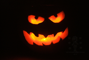Toothy Jack :Halloween 2015: by RedVioletPanda