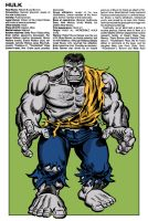 Marvel Handbook Grey Hulk by Simon-Williams-Art