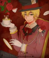Hetalia: England Tea Party by eizurin