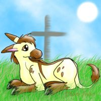 The Donkey's Cross by ninetails390