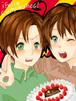 APH: Happpppy Birthday by milei