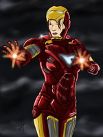 Iron Man Rule 63 by IronWarrior777