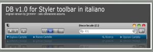 new styler toolbar by puglialemon