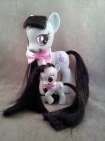 MLP: FiM - FS and filly Octavia - customs by hannaliten