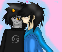 KarKat x John by BloodyMisery15