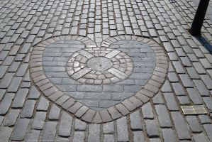 Heart of Midlothian, Edinburgh by bobswin
