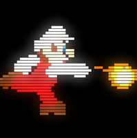 Fire Mario by KingBoo1