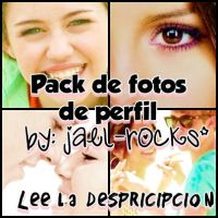 Pack Fotos de Perfil Miley y Selena {ZIP VERSION} by Jael-Rocks