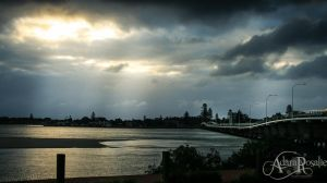 Foster, NSW, Sunset overlooking Tuncurry by AdaraRosalie