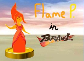 Flame Princess joins the Brawl by rabbidlover01