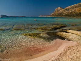 Balos Beach by eDarKknight