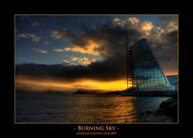 Burning Sky - HDR by sxy447