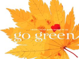 go green ver2 by sillyjo3