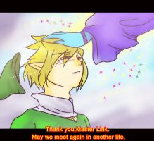 Goodbye,my master Link... by Christy58ying