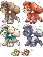 Asteroid Puppies: Batch 2 CLOSED by Jesseth